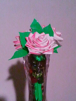 Pink and White Flower Assortment by DuctileCreations