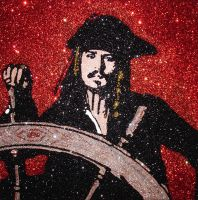 Captain Jack Sparrow by The-Glitteress