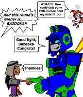 Congrats to Bazooka by AleximusPrime