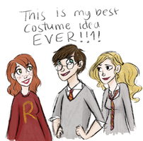 Percy Potter and Co by wondernez