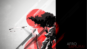Afro Samurai abstract by SpaceDelusion