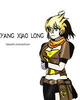 RWBY Fanart: Yang Xiao Long, In Own Style by TUSDarryl
