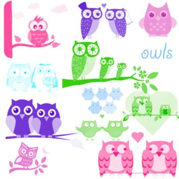 owl brushes for photoshop by patito15