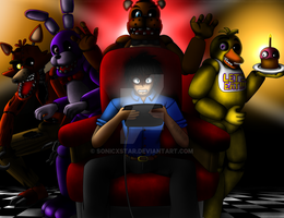 FIVE NIGHT'S AT FREDDY'S by SonicXstar