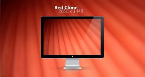 Red Clone Wallpaper by Del-Korey
