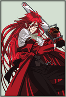 Grell Sutcliff by Likesa