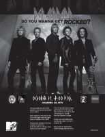 Def Leppard Advertisement by maxamusholden