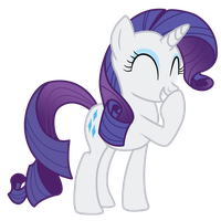 Rarity Teehee by heroman4b3