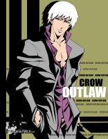 Crow Outlaw by cyberunique