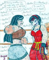 Boxing Heather vs Maiagaru by Jose-Ramiro