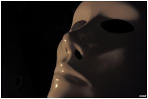 Behind the mask by DropOfTime