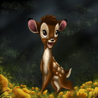 Bambi by DeborahS