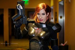 Don't Mess with Shepard by Viverra1