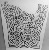 Curley Celtic Sleeve by Tattoo-Design
