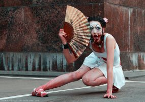 zombie geisha 7 by gremo-photography