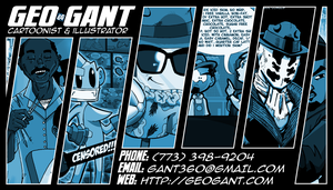 Business Card 2012 by geogant