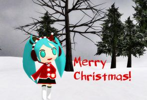 Merry Christmas! + Miku Download by Aira-Melody
