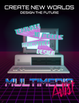 Multimedia Artists Poster (80s Themed) by discopears