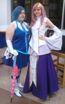 Jubia and Lacus by TheSnowDrifter