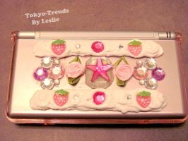 nintendo ds case shiny deco by Tokyo-Trends