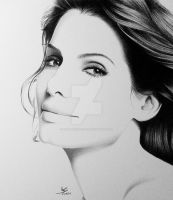 Sandra Bullock by FromPencil2Paper
