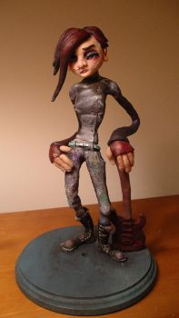 The Kid Painted Maquette by cre8anim8