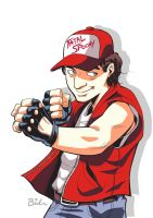 Spoony as Terry Bogard by BernyArrBee
