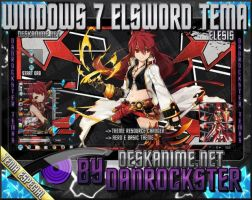 Elesis Elsword Windows 7 Theme by Danrockster