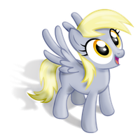 Derpy looks to the firmament by Terkatoriam