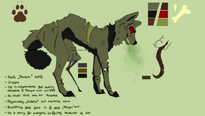 Reference Sheet - Plague ~ by Xyrea