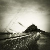 au revoir Mt.Saint Michel... by Kaarmen