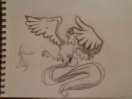 Articuno from Pokemon by artisticdreamer123