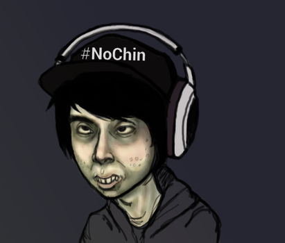 Leafy No Chin by ImmaculateReprobate