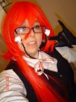 Grell Stucliff test cosplay by Die-Rose