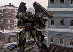Movement to Contact - Surface Warfare Battleframe by TheDrowningEarth