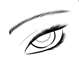 Eye Practice by WolfLover0925