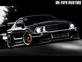 Am-ford mustang by adrianmolina