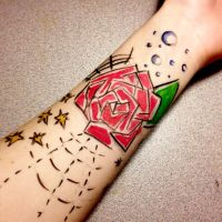 Doodle Tattoo by IrrationalCrayon
