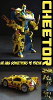 TFA Beast Wars Cheetor by Gizmo-Tracer