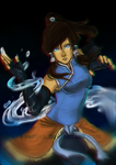 Avatar Korra by Everinn