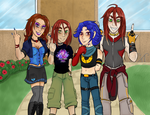 babbys first college au by cyberill