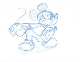 Mickey Sketch 1 by imdeerman