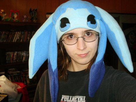 Glaceon Hat ^-^ by ChikaneNoMiko