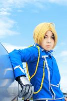 Edward Elric: Military Uniform by Lishrayder