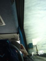 On the Shuttle Bus by SnapShot120