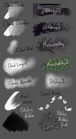 14 Free Manga Studio 5 Brushes by Shrineheart