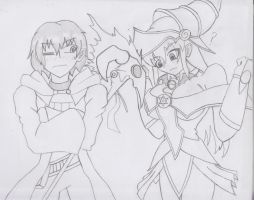 Let's Cosplay Yu-gi-oh Monsters Sette~! Oh, Wha~? by sethb1