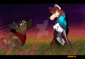 ZADDIN-and-STEBAN-under-stars! by alphakw