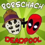 Rorschach and Deadpool by Toonvailo