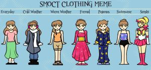 SMOCT clothing meme- Sarah by BishiLover16